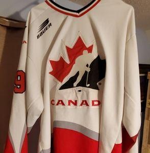 Wayne Gretzky's Olympic Jersey